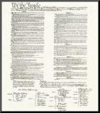 Amerikaanse grondwet Kunst op hout