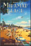 Miramar Beach, Montecitos Impressão montada por Kerne Erickson