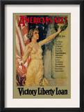 Americans All! Victory Liberty Loan Posters por Howard Chandler Christy