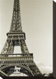 Eiffel Tower from the River Seine Opspændt lærredstryk af Christian Peacock
