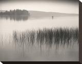 Late Afternoon Fishing Impressão em tela esticada por Andrew Ren