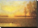 Sunrise Haze Stretched Canvas Print by Joseph P. Grieco