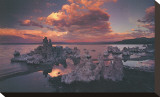 Tufas in Mono Lake, California Stretched Canvas Print by Art Wolfe