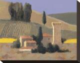 Castellina Impressão em tela esticada por William Buffett