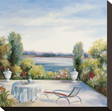 Lakefront View Pingotettu canvasvedos tekijänä David Weiss