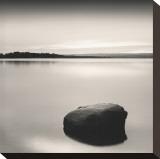 Solo Floating on Ottawa River, Study no. 2 (detail) Impressão em tela esticada por Andrew Ren