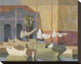 Marbella Impressão em tela esticada por William Buffett