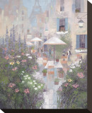 Jardin Rivoli Pingotettu canvasvedos tekijänä Albert Swayhoover