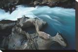 Kicking Horse River, Alberta Impressão em tela esticada por Andrew Ren