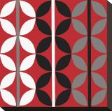 Checker Toile tendue sur châssis par Denise Duplock