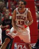 Indiana Pacers v Chicago Bulls - Game Two, Chicago, IL - April 18: Joakim Noah Fotografía