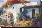 Honeymoon Casita Stretched Canvas Print by  Hawley