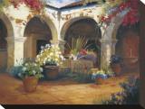 Bello Terrazzo Pingotettu canvasvedos tekijänä Carolyne Hawley