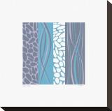 Rivière de galets Toile tendue sur châssis par Denise Duplock