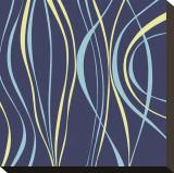 Marine-Blau Toile tendue sur châssis par Denise Duplock