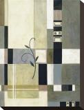 Kiwi Quilt Sträckt kanvastryck av Muriel Verger