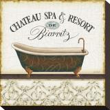 Spa and Resort I キャンバスプリント : リサ・オーディット