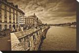 Paris Stretched Canvas Print by Marcin Stawiarz