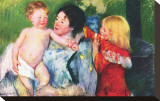 After the Bath Stretched Canvas Print by Mary Cassatt