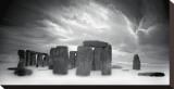 Stonehenge Stretched Canvas Print by Marcin Stawiarz