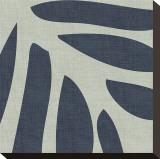 Shadow Leaf I Stretched Canvas Print by Mali Nave