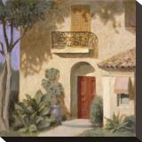 Via Nogales Impressão em tela esticada por William Buffett