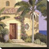 Calle Ensenada Impressão em tela esticada por William Buffett