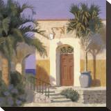 San Miguel Impressão em tela esticada por William Buffett