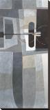 Retro Illusion Stretched Canvas Print by Craig Alan