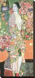 The Dancer, c.1918 Reproducción de lámina sobre lienzo por Gustav Klimt