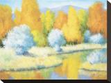 10月の反映 キャンバスプリント : B. オリバー