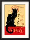 Tournee du Chat Noir Avec Rodolptte Salis Posters por Théophile Alexandre Steinlen