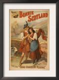 Sidney R. Ellis' Bonnie Scotland Scottish Play Poster No.2 Posters