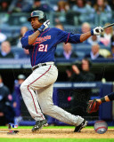 Delmon Young 2011 Action Photo