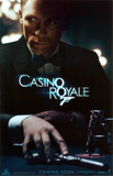 Filmposter aankondiging Casino Royale, Daniel Craig als James Bond, 2006 Masterprint