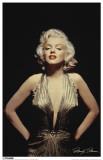 Marilyn Monroe Gold Dress Masterprint