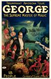 George The Supreme Master of Magic Masterprint