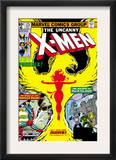 Uncanny X-Men 125 Cover: Phoenix, Colossus, Storm, Madrox and Havok Print by John Byrne