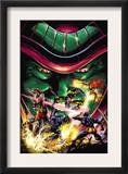 X-Men Unlimited 13 Cover: Colossus, Wolverine, Beast, Cyclops, Phoenix and Mesmero Print by Clay Mann