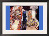 Adorn The Bride with Veil and Wreath Arte por Gustav Klimt