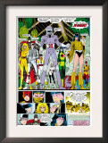 X-Men Annual 10 Group: Warlock, Sunspot, Cannonball, Cypher, Magma, Magik and New Mutants Poster por Arthur Adams