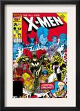 X-Men Annual 10 Cover: Warlock, Sunspot, Wolfsbane and New Mutants Arte por Arthur Adams