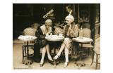 Terasse De Cafe 1924 Affiches