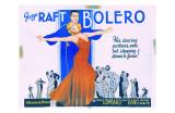George Raft & Carole Lombard Poster