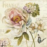 Marche de Fleurs III Prints by Lisa Audit