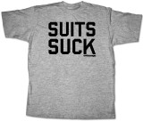 Entourage - Suits Suck Camisetas