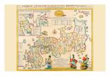 Prefectures & the Peoples of Japan Prints by Engelbert Kaempfer