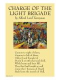 La charge de la brigade légère Posters