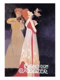 Dream of a Waltz Kunstdrucke von Leopoldo Metlicovitz