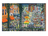 New Orleans, Louisiana - Mardi Gras Parade; Rex Greets Subjects Poster von  Lantern Press
